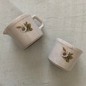 Blue Mountain Pottery vintage Country Charm set